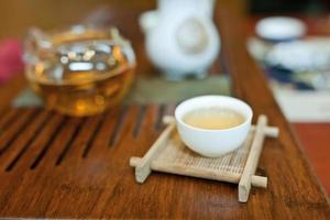 de Chinese theeceremonie foto