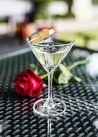 glas cocktail foto