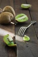 sappige en gezonde kiwi's