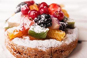 traditioneel Frans dessert foto