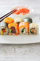 sushi stukken collectie foto