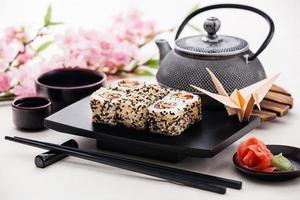 sushi rolt foto