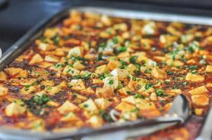 Koreaanse tofu-saus foto