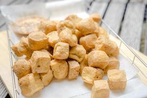 gefrituurde tofu