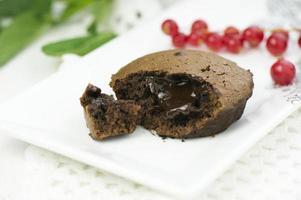 chocoladesoufflé foto