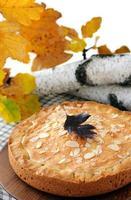 pompoen-noot taart foto