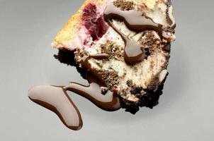 chocoladetaart dessert foto