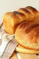 gebakken brood foto