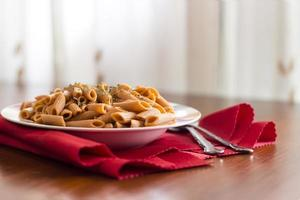 macaroni compositie foto