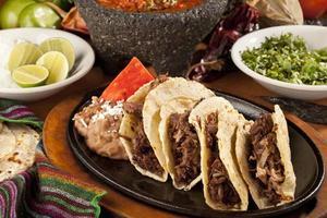rundvlees taco's foto