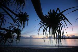 Oost-timor timor leste jaco beach foto