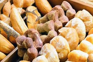 geassorteerde stokbrood foto