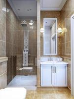 ontwerp van moderne badkamer foto