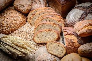 gesneden brood foto