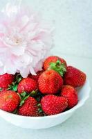 aardbeien foto
