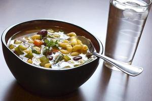 Minestrone soep foto