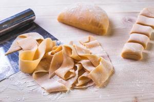 pasta maken foto