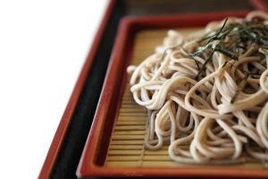 soba noodle foto