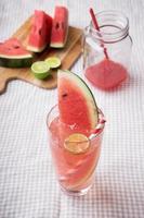 watermeloen drankje foto