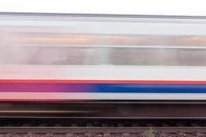 rijdende trein