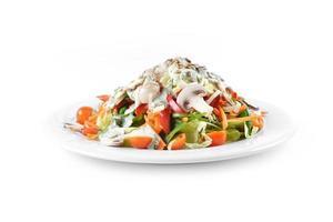 salade met champignons foto