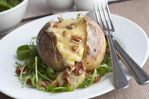 aardappel in de schil foto