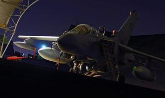 raf tornado gr4 in het midden-oosten, afghanistan, irak foto