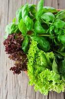ingrediënten voor salade foto