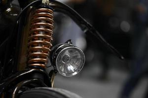 motorfiets ophanging foto