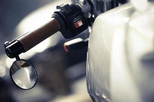 motorfiets spiegel foto