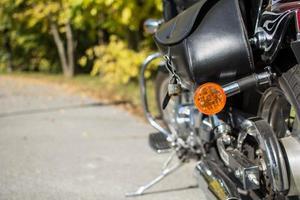 motorfiets zadeltassen foto