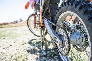 de motorfiets foto