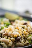 volkoren vegetarische salade