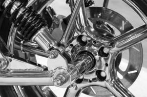 custom motorfiets wiel foto