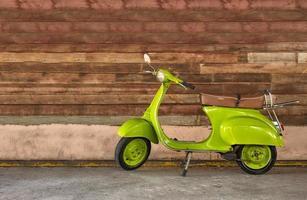 moderne klassieke scooter foto