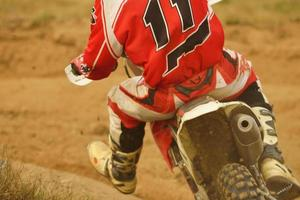 motorcross fiets foto