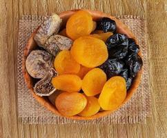 gedroogd fruit foto