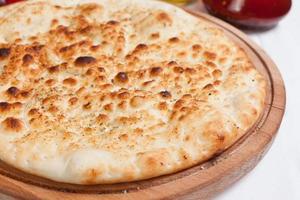 knoflook focaccia pizza