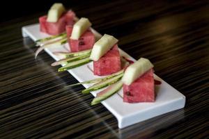 watermeloen en meloen foto