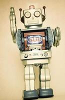 rerto robot speelgoed foto