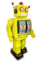 retro robot speelgoed foto