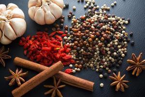 ingrediënt: droog kruid foto