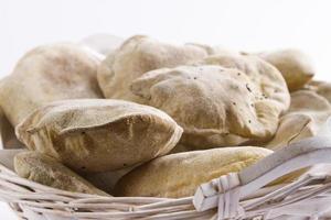Naan brood foto