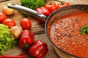 hete chili con foto