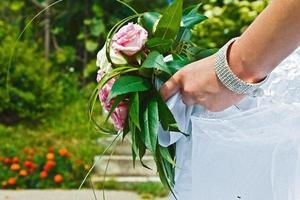 boeket van de bruid