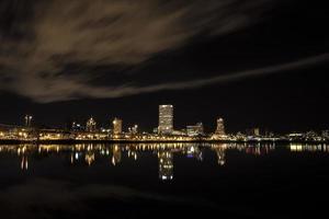 de skyline van milwaukee foto