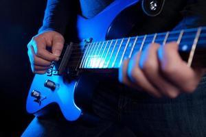 rockgitarist foto