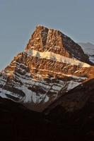 rock bergen in de herfst
