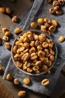 zelfgemaakte zoute maïs noten foto