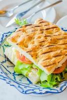 sandwich ham & kaas foto